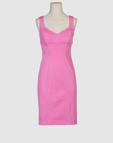 DIANE VON FURSTENBERG Women - Dresses - 3/4 length dress DIANE VON FURSTENBERG on YOOX :  shift luxury pink fashion