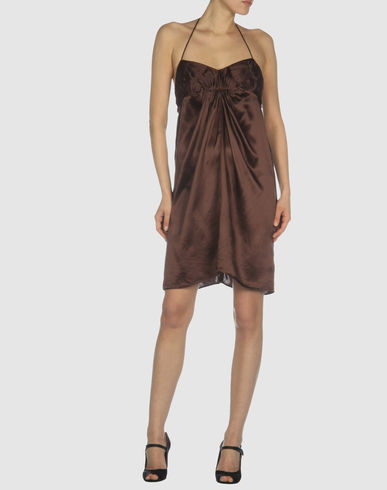 RA-RE - Short dress :  nude dress dress silk dress dresses