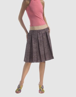 Faldas - PRADA Faldas por la rodilla en YOOX.COM