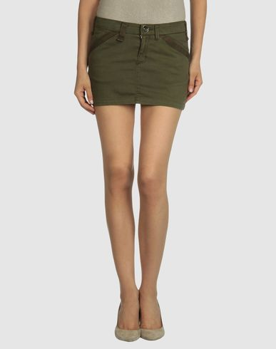 MISS SIXTY Military Mini skirt from yoox.com