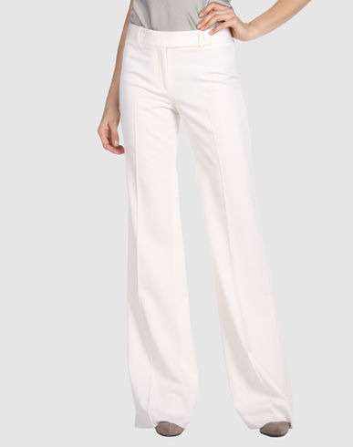 MICHAEL KORS - Casual Wool Pants :  wool pants pants white wool pants michael kors pants