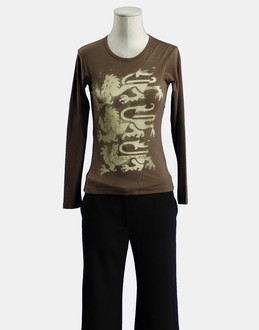 More information or Buy online WOMAN - GSUS SINDUSTRIES - TOP WEAR - LONG SLEEVE T-SHIRT - AT YOOX