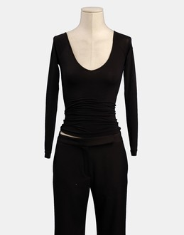 More information or Buy online WOMAN - PINKO - TOP WEAR - LONG SLEEVE T-SHIRT - AT YOOX