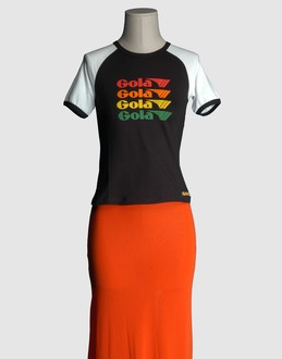 More information or Buy online WOMAN - GOLA - TOP WEAR - SHORT SLEEVE T-SHIRT - AT YOOX