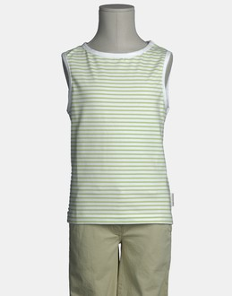 More information or Buy online GIRL - CP COMPANY - TOP WEAR - SLEEVELESS T-SHIRT - AT YOOX