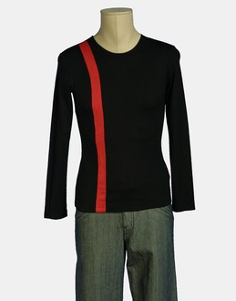 More information or Buy online MAN - PEGGY MOFFITT COMME DES GARCONS - TOP WEAR - LONG SLEEVE T-SHIRT - AT YOOX