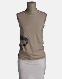 More information or Buy online WOMAN - IF SIX WAS NINE - TOP WEAR - SLEEVELESS T-SHIRT - AT YOOX