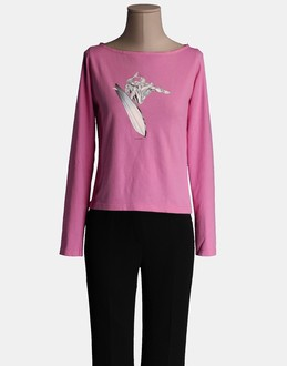 More information or Buy online WOMAN - MARVEL - TOP WEAR - LONG SLEEVE T-SHIRT - AT YOOX