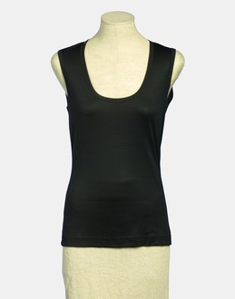 More information or Buy online WOMAN - DOLCE & GABBANA - TOP WEAR - SLEEVELESS T-SHIRT - AT YOOX
