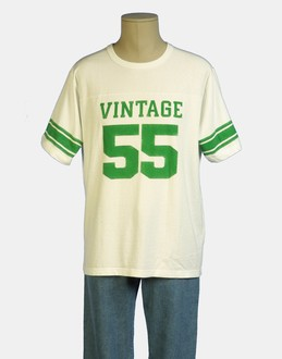 More information or Buy online MAN - VINTAGE 55 - TOP WEAR - SHORT SLEEVE T-SHIRT - AT YOOX