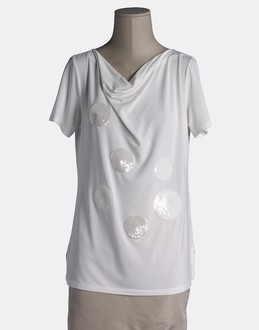 More information or Buy online WOMAN - CLIPS TRICOT - TOP WEAR - SHORT SLEEVE T-SHIRT - AT YOOX