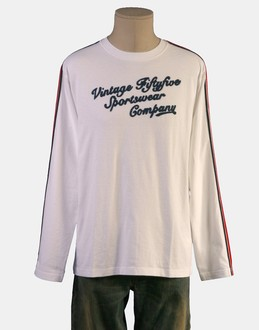 More information or Buy online MAN - VINTAGE 55 - TOP WEAR - LONG SLEEVE T-SHIRT - AT YOOX