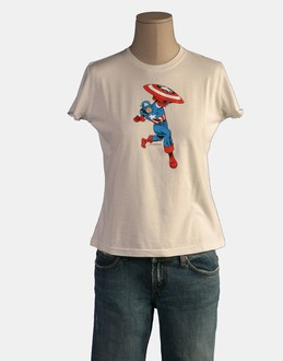 More information or Buy online WOMAN - MARVEL - TOP WEAR - SHORT SLEEVE T-SHIRT - AT YOOX