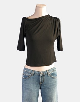 More information or Buy online WOMAN - GIOTTO - TOP WEAR - LONG SLEEVE T-SHIRT - AT YOOX
