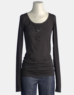 More information or Buy online WOMAN - ALESSANDRO DELL'ACQUA - TOP WEAR - LONG SLEEVE T-SHIRT - AT YOOX