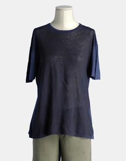 More information or Buy online WOMAN - AVANT TOI - TOP WEAR - SHORT SLEEVE T-SHIRT - AT YOOX