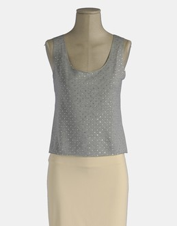 More information or Buy online WOMAN - MAJESTIC - TOP WEAR - SLEEVELESS T-SHIRT - AT YOOX