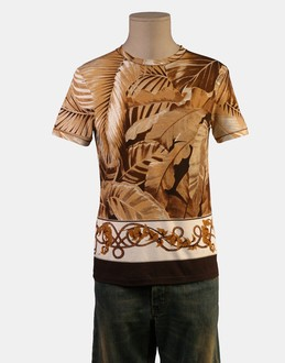 More information or Buy online MAN - ROBERTO CAVALLI - TOP WEAR - SHORT SLEEVE T-SHIRT - AT YOOX