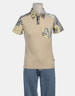 More information or Buy online MAN - JUST CAVALLI - TOP WEAR - POLO SHIRTS - AT YOOX