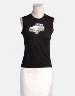 More information or Buy online WOMAN - ONDE DE FORME - TOP WEAR - SLEEVELESS T-SHIRT - AT YOOX