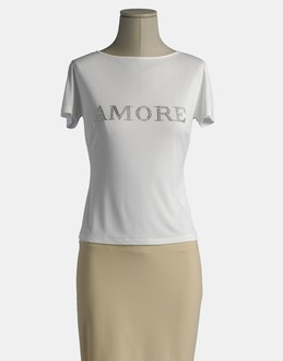 More information or Buy online WOMAN - BLUMARINE - TOP WEAR - SHORT SLEEVE T-SHIRT - AT YOOX