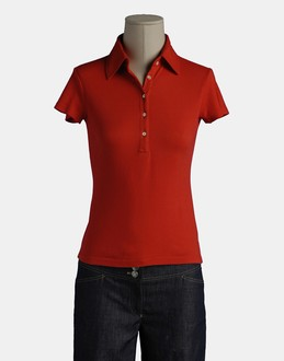 More information or Buy online WOMAN - ROSSOPURO - TOP WEAR - POLO SHIRTS - AT YOOX