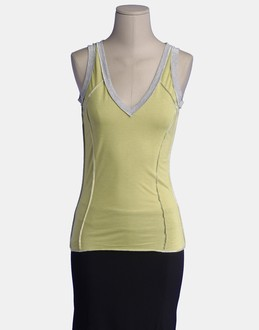 More information or Buy online WOMAN - D&G - TOP WEAR - SLEEVELESS T-SHIRT - AT YOOX