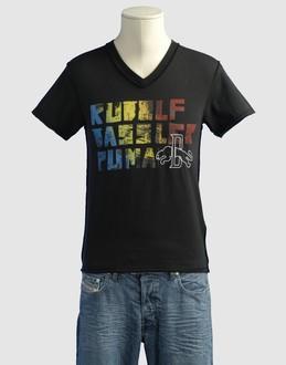 Camisetas y Tops - PUMA RUDOLF D SCHUHFABRIK Camisetas de manga corta en YOOX.COM