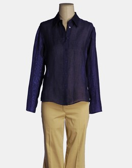 More information or Buy online WOMAN - CARACTERE - SHIRTS - LONG SLEEVE SHIRTS - AT YOOX