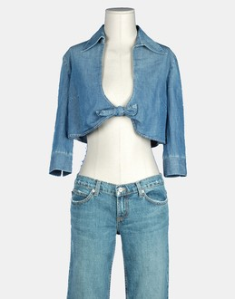 More information or Buy online WOMAN - MOSCHINO JEANS - SHIRTS - BLOUSES - AT YOOX
