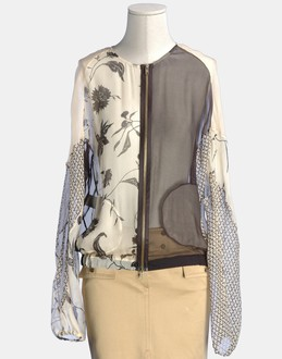 More information or Buy online WOMAN - ALESSANDRO DELL'ACQUA - SHIRTS - LONG SLEEVE SHIRTS - AT YOOX
