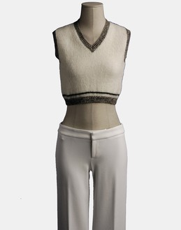 More information or Buy online WOMAN - JEAN PAUL GAULTIER MAILLE FEMME - KNITWEAR - SLEEVELESS JUMPERS - AT YOOX