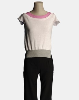 More information or Buy online WOMAN - GRIFONI - KNITWEAR - SHORT SLEEVE JUMPERS - AT YOOX