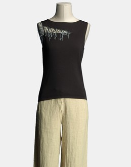More information or Buy online WOMAN - CARACTERE - KNITWEAR - SLEEVELESS JUMPERS - AT YOOX