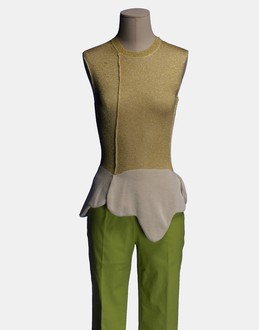 More information or Buy online WOMAN - COMME des GARÇONS - KNITWEAR - SLEEVELESS JUMPERS - AT YOOX
