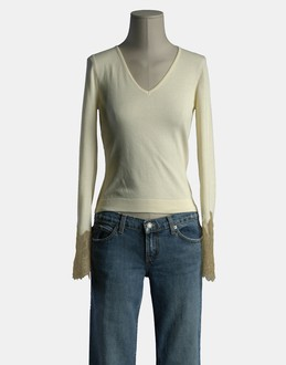 More information or Buy online WOMAN - R.E.D. VALENTINO - KNITWEAR - LONG SLEEVE JUMPERS - AT YOOX