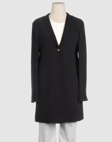 JIL SANDER Women - Coats & jackets - Full-length jacket JIL SANDER on YOOX :  blazers jil sander black blazer