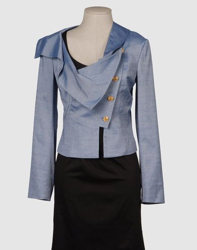 VIVIENNE WESTWOOD RED LABEL Women - Coats & jackets - Blazer VIVIENNE WESTWOOD RED LABEL on YOOX