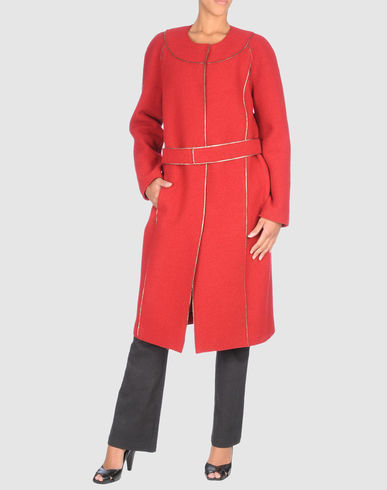 PORTS 1961 Women - Coats & jackets - Coat PORTS 1961 on YOOX United States :  dresses jacket roberto cavalli sweater