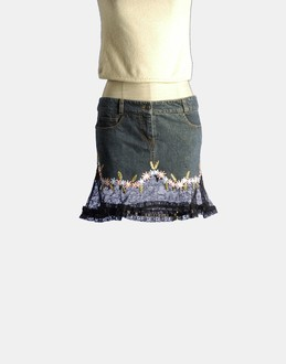 More information or Buy online WOMAN - R.E.D. VALENTINO - DENIM - DENIM SKIRTS - AT YOOX