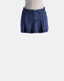 More information or Buy online WOMAN - BRUBA - DENIM - DENIM SKIRTS - AT YOOX