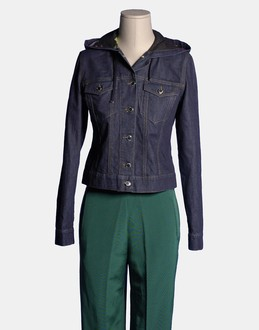 More information or Buy online WOMAN - R.E.D. VALENTINO - DENIM - DENIM JACKETS - AT YOOX