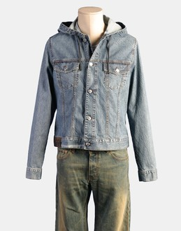 More information or Buy online MAN - R.E.D. VALENTINO - DENIM - DENIM JACKETS - AT YOOX