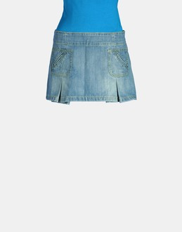 More information or Buy online WOMAN - DONDUP - DENIM - DENIM SKIRTS - AT YOOX