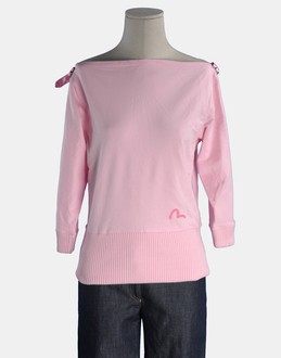 More information or Buy online WOMAN - EVISU DONNA - FLEECETOPS - SWEATSHIRTS - AT YOOX