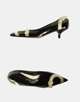 More information or Buy online WOMAN - ERNESTO ESPOSITO - FOOTWEAR - CLOSED-TOE SLIP-ONS  - AT YOOX