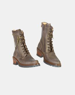 More information or Buy online GIRL - WOLLY - FOOTWEAR - COMBAT BOOTS - AT YOOX