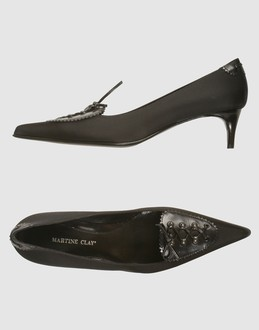 More information or Buy online WOMAN - MARTINE CLAY - FOOTWEAR - SHOES - AT YOOX