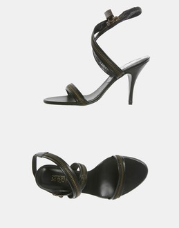 More information or Buy online WOMAN - ALEXANDER MCQUEEN - FOOTWEAR - HIGH-HEELED SANDALS - AT YOOX
