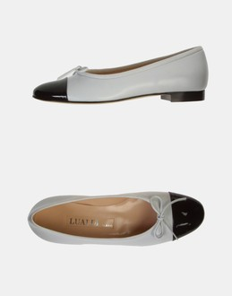 More information or Buy online WOMAN - LUALDI - FOOTWEAR - BALLET FLATS - AT YOOX